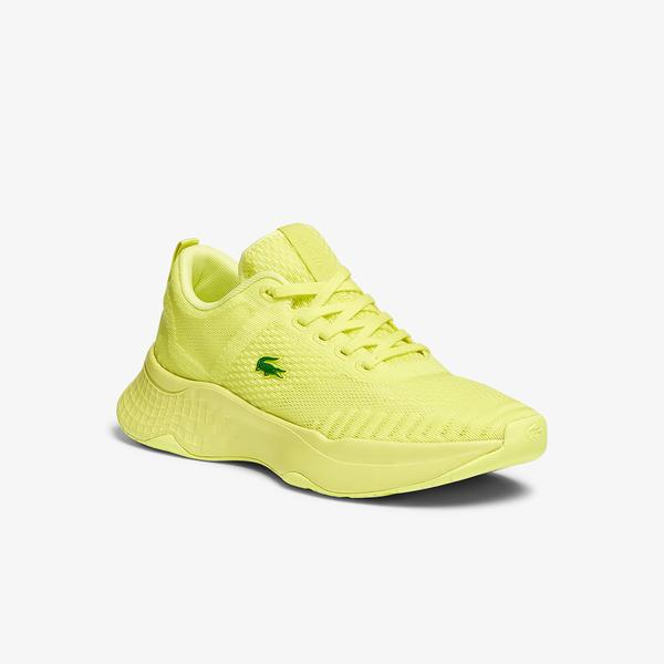 Lacoste Court-Drive Fly 07211 Sfa Kadın Sarı Sneaker