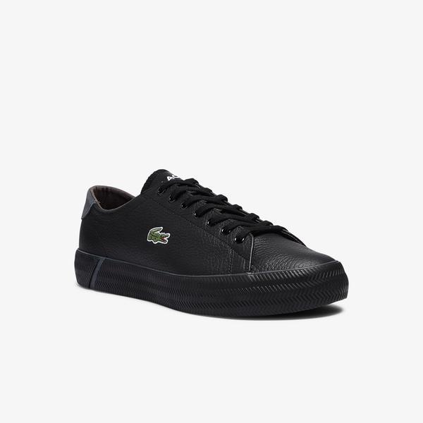 Lacoste Gripshot 0721 3 Cma Erkek Deri Siyah - Koyu Gri Sneaker