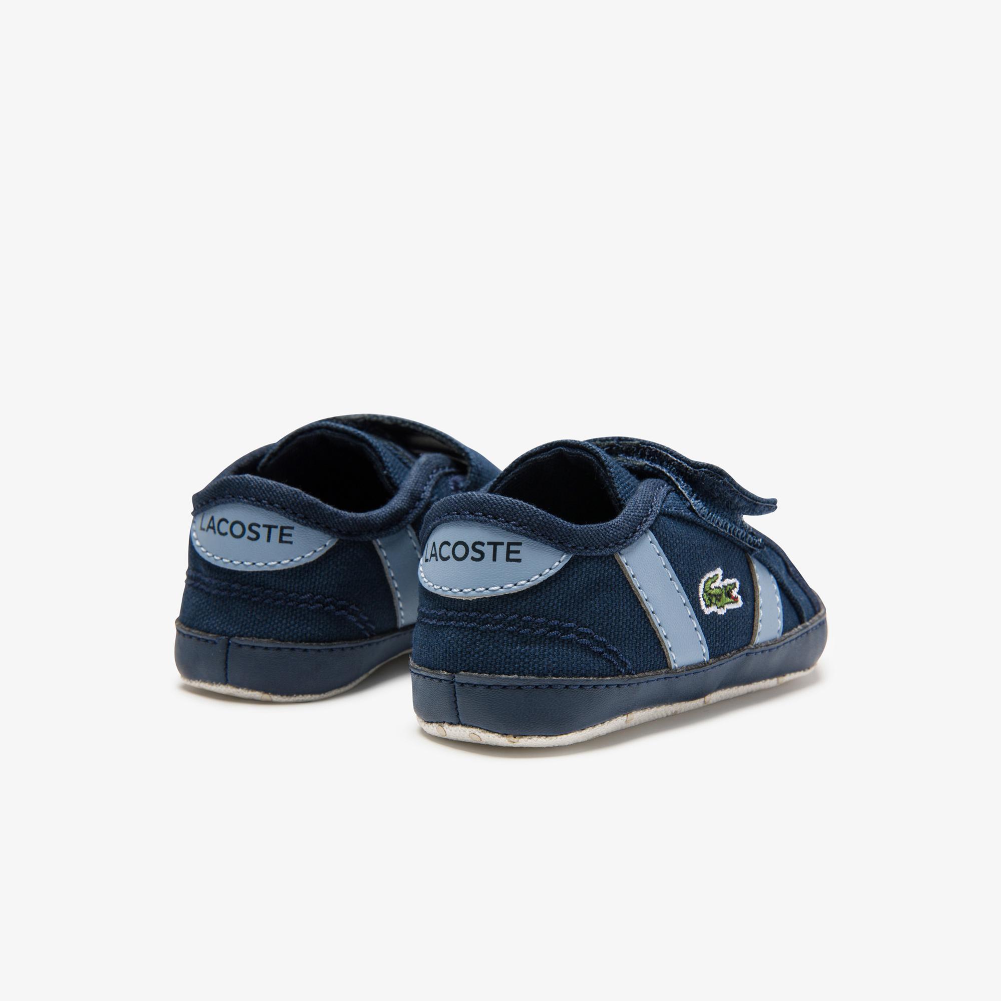 Lacoste Sideline Crib 0120 1 Cub Çocuk Lacivert - Mavi Sneaker