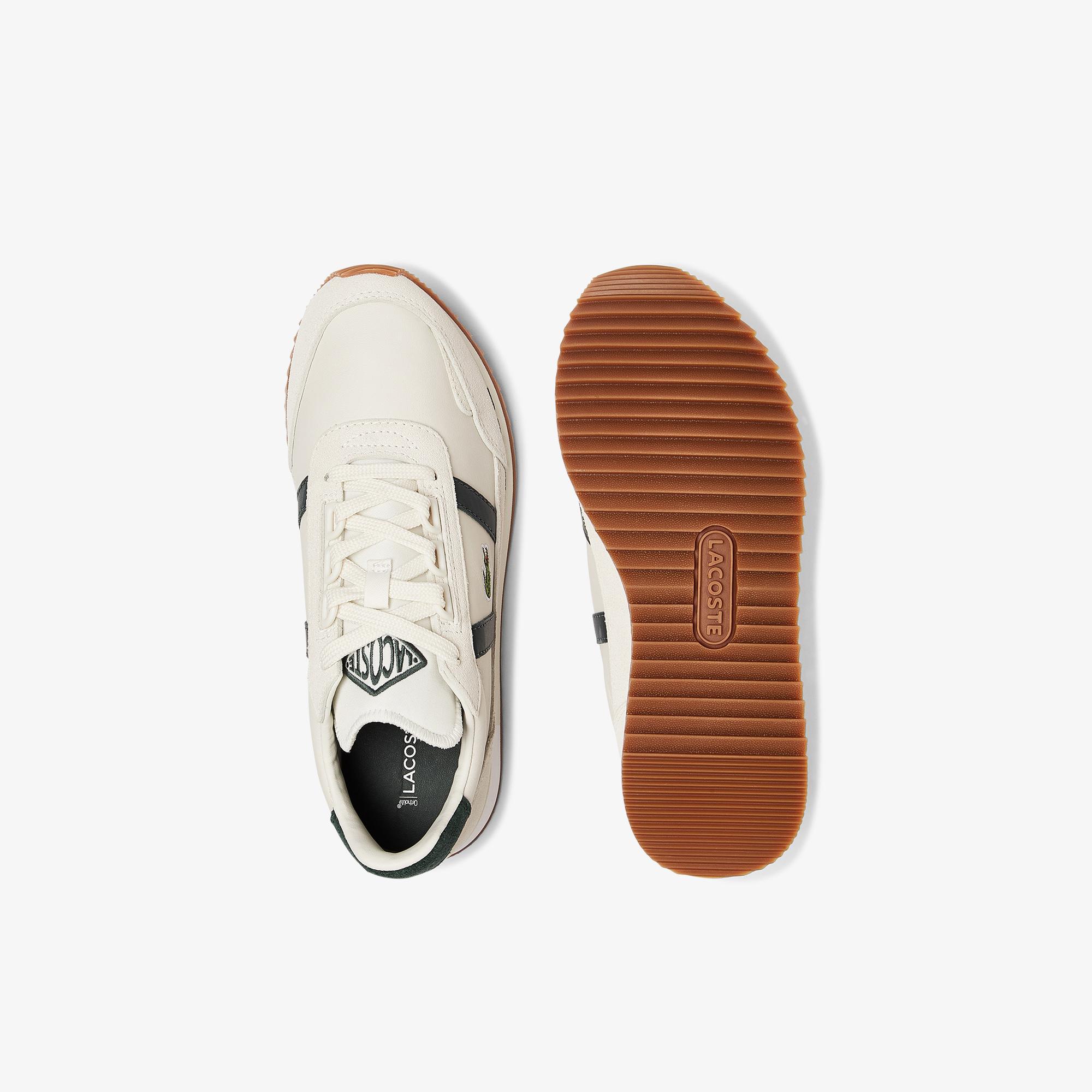 Lacoste Partner Retro 0721 1 Sfa Kadın Beyaz - Koyu Yeşil Sneaker