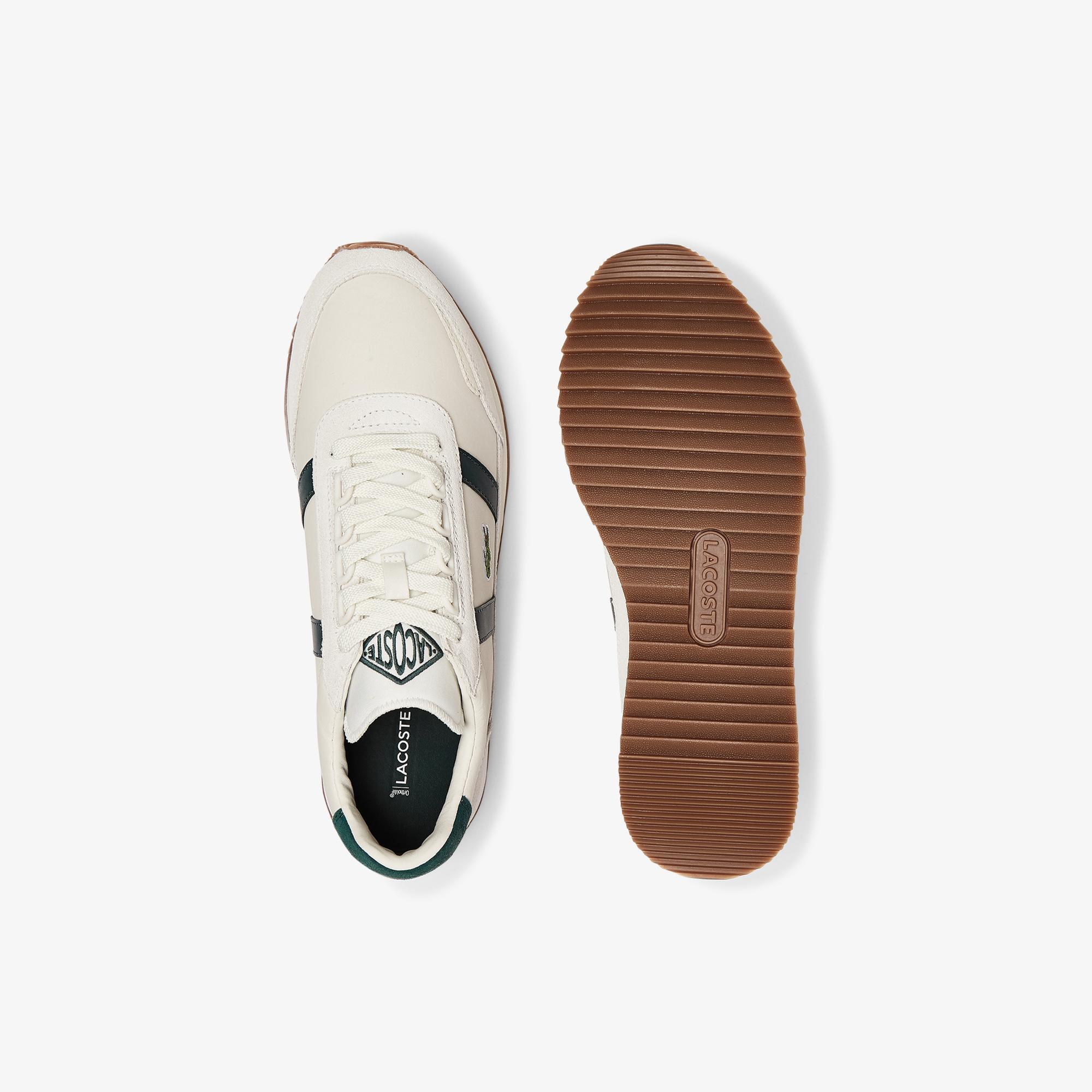 Lacoste Partner Retro 0721 1 Sma Erkek Beyaz - Koyu Yeşil Sneaker