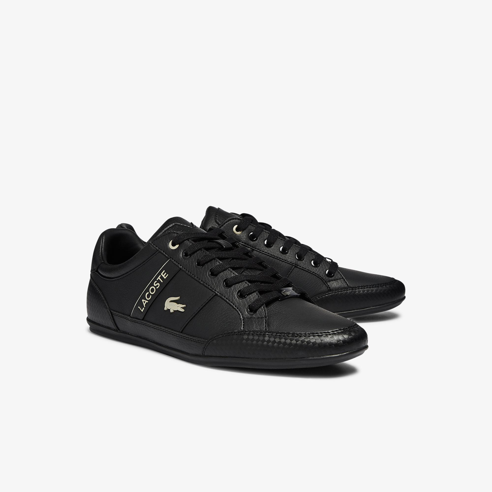 Lacoste Chaymon 0721 3 Cma Erkek Deri Siyah Sneaker