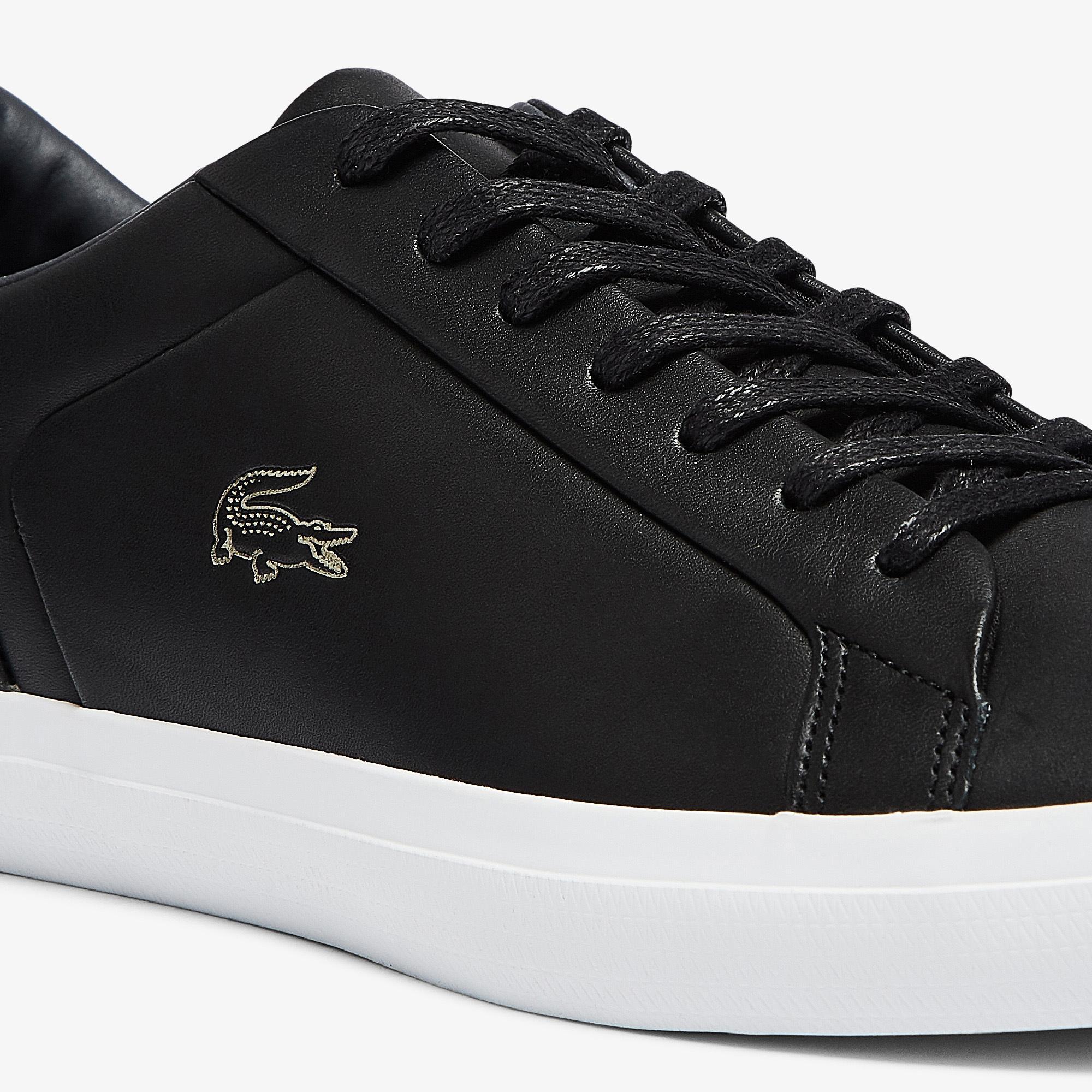 Lacoste Lerond 0921 1 Cma Erkek Siyah - Beyaz Sneaker