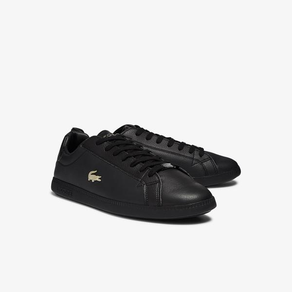 Lacoste Graduate 0721 1 Sma Erkek Siyah Sneaker