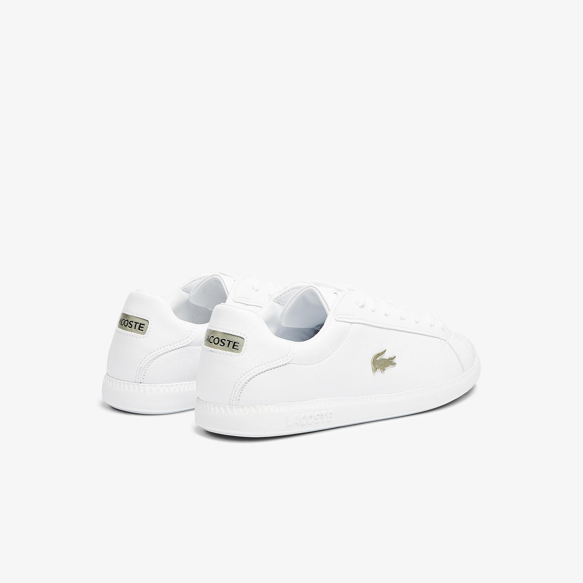 Lacoste Graduate 0721 1 Sma Erkek Beyaz Sneaker