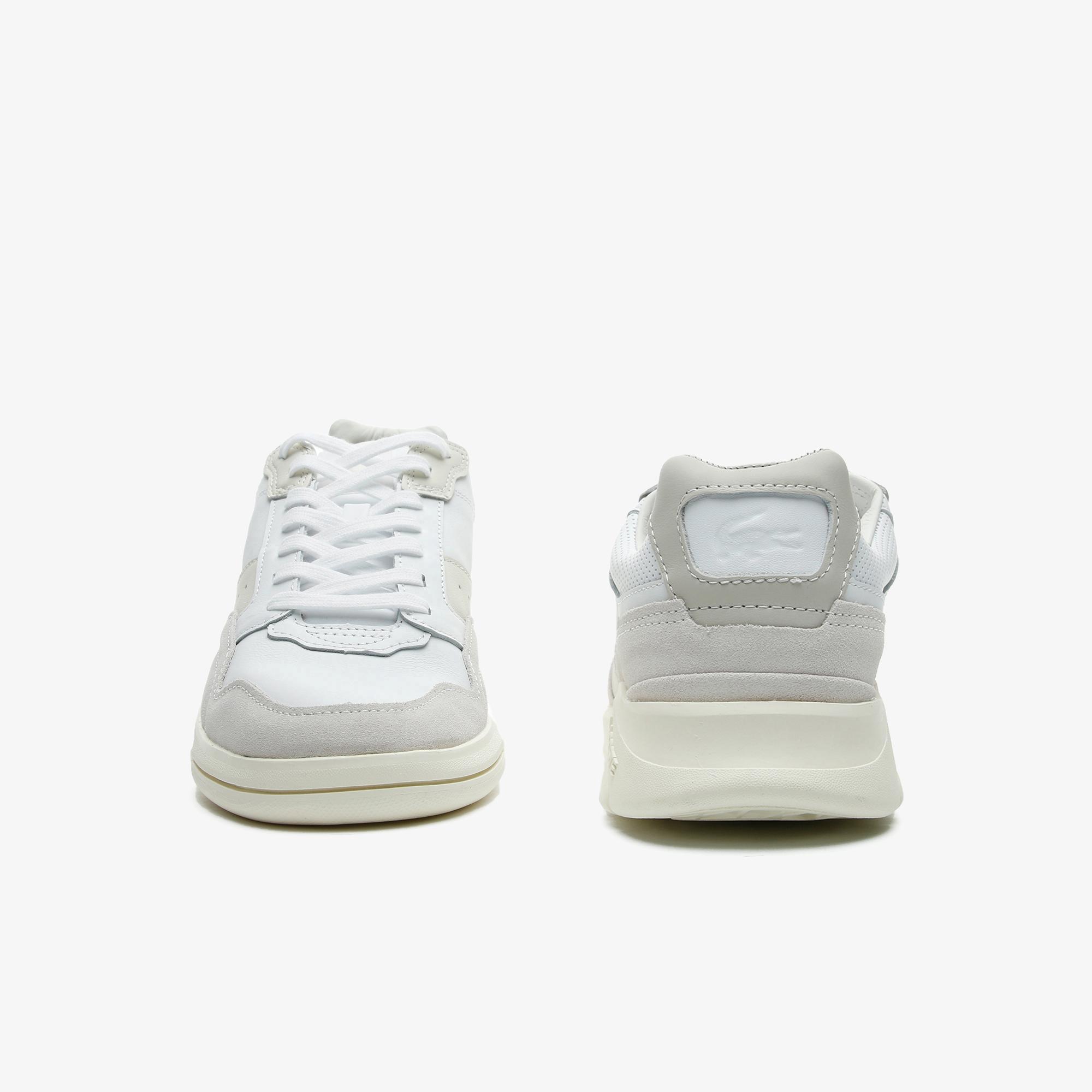 Lacoste Game Advance Luxe07211Sma Erkek Bej - Beyaz Sneaker