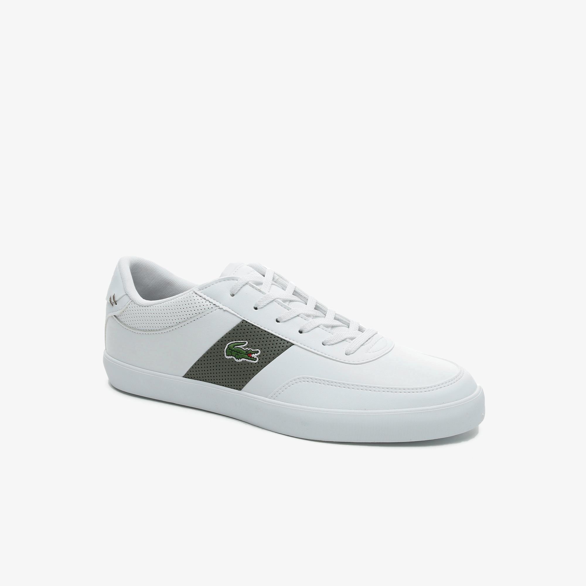 Lacoste Court-Master 0721 1 Cma Erkek Beyaz - Haki Sneaker
