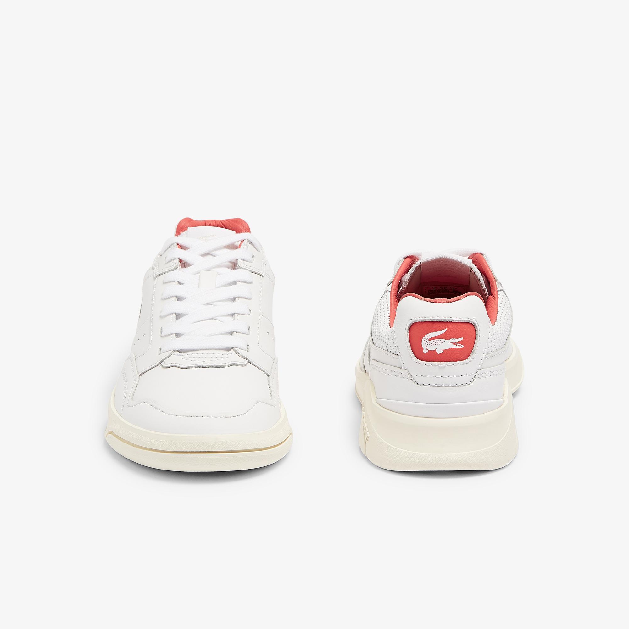 Lacoste Gameadvance Luxe 07212Sfa Kadın Beyaz - Pembe Sneaker