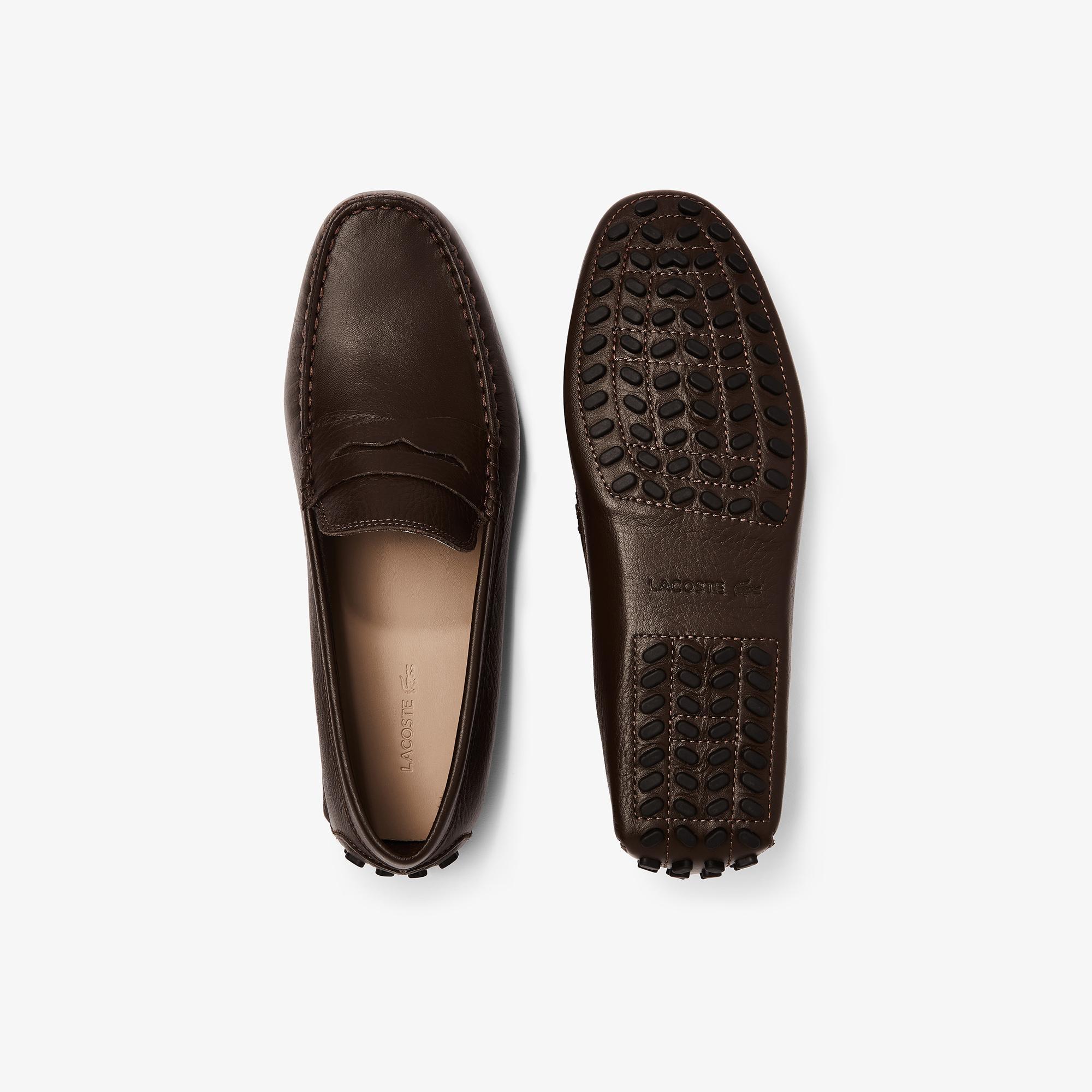 Lacoste Concours 118 1 P Cam Erkek Deri Kahverengi Ayakkabı