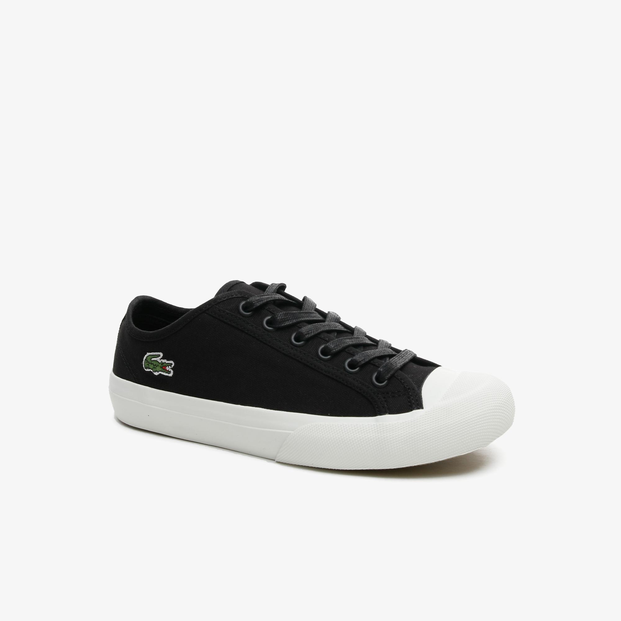 Lacoste Topskill 0721 2 Cfa Kadın Siyah - Beyaz Sneaker