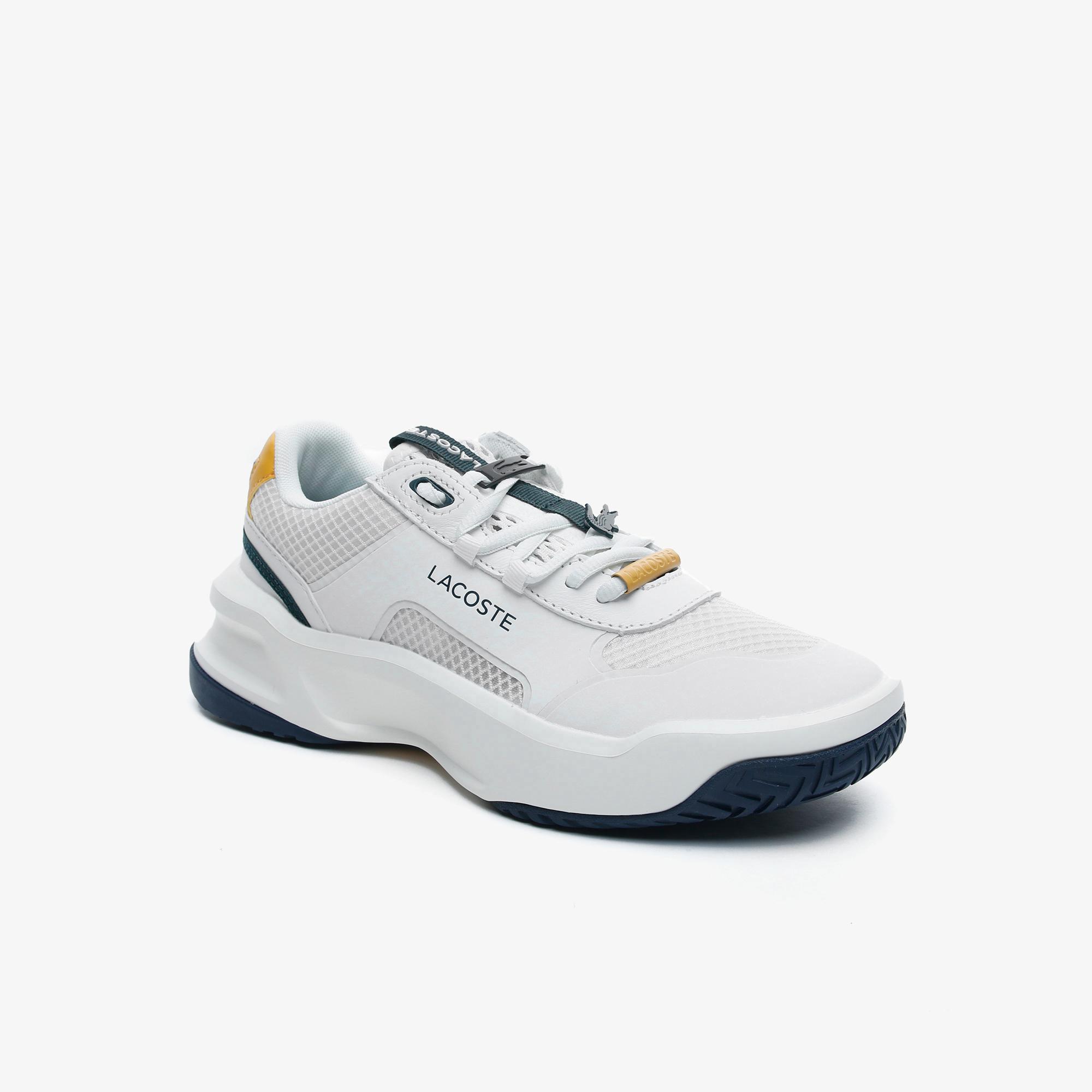 Lacoste Ace Lift Fly 0721 1 Sfa Kadın Beyaz - Lacivert Sneaker