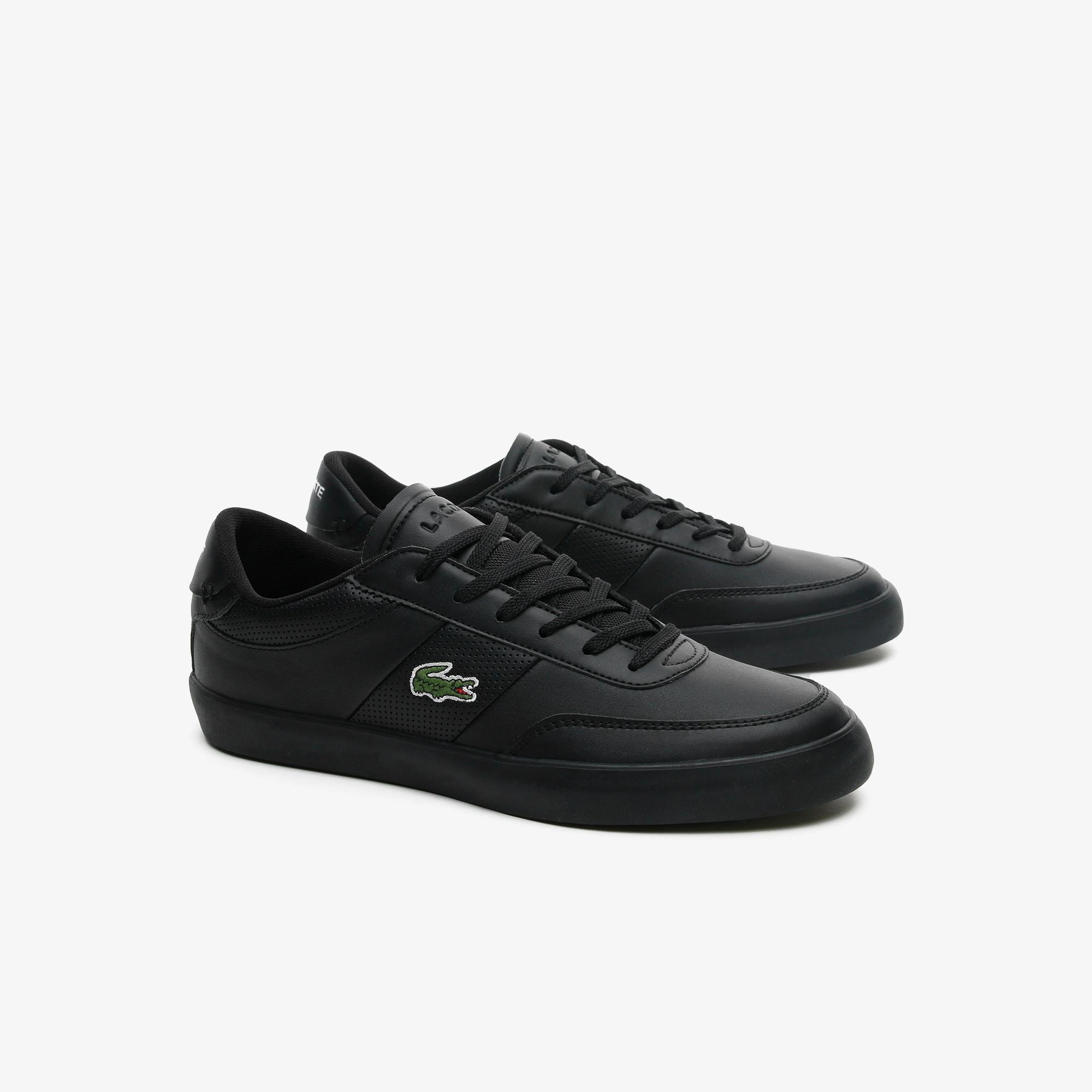 Lacoste Court-Master 0721 1 Cma Erkek Siyah Sneaker