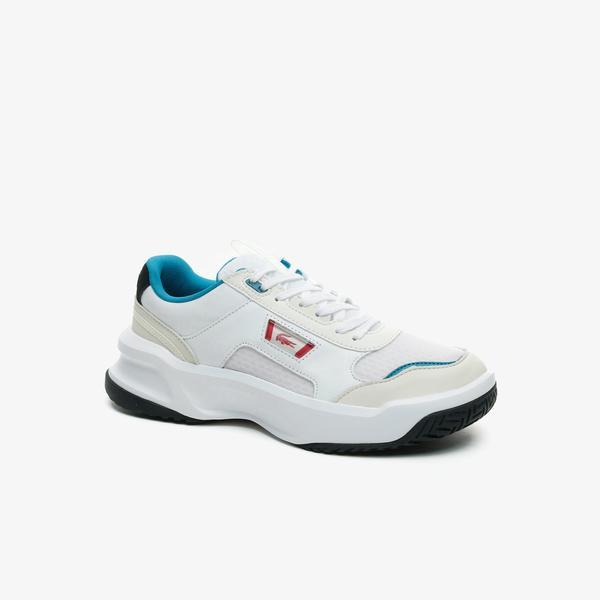 Lacoste Ace Lift 0721 2 Sma Erkek Beyaz - Turkuaz Sneaker