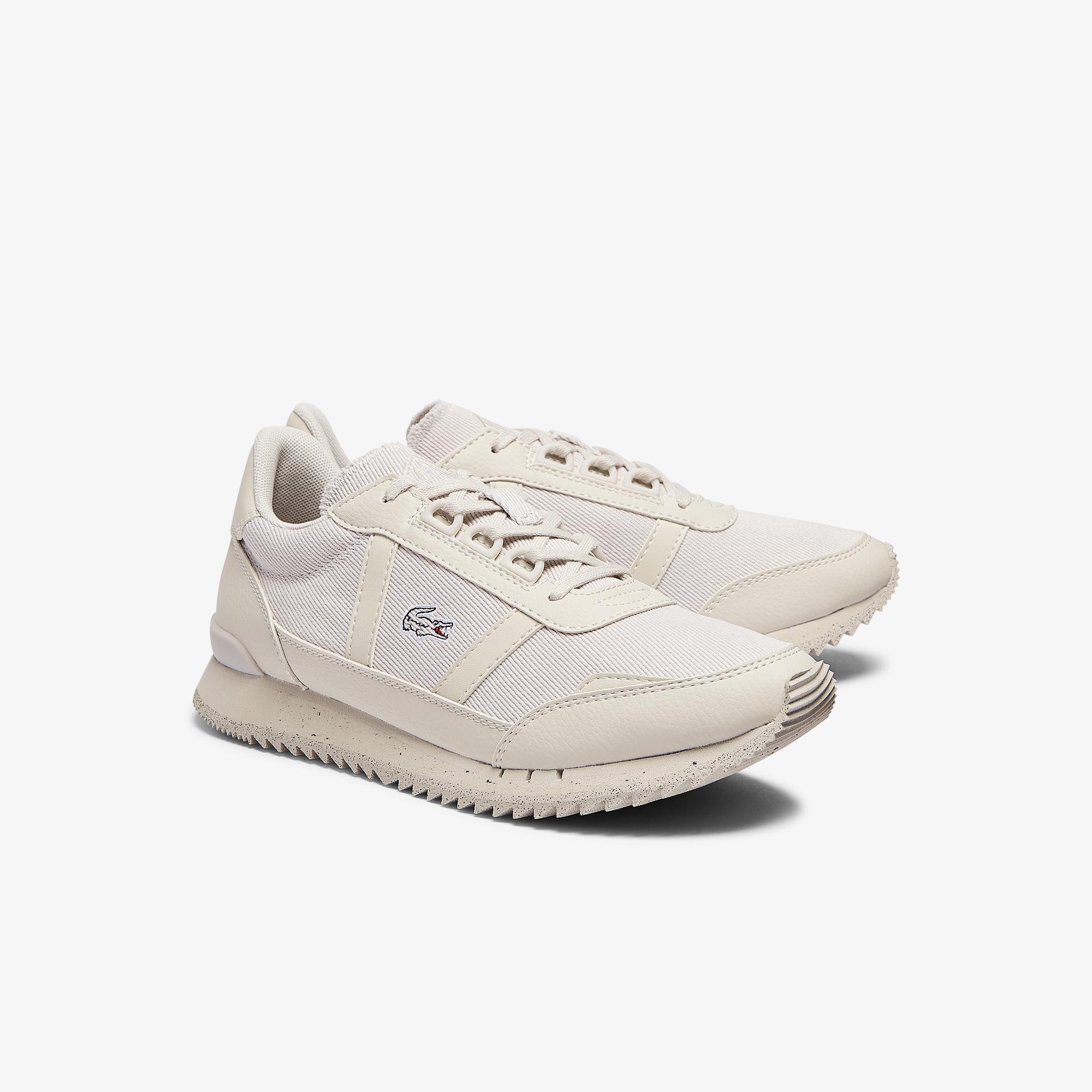 Lacoste Partner Retro 0921 1 Sfa Kadın Bej Sneaker