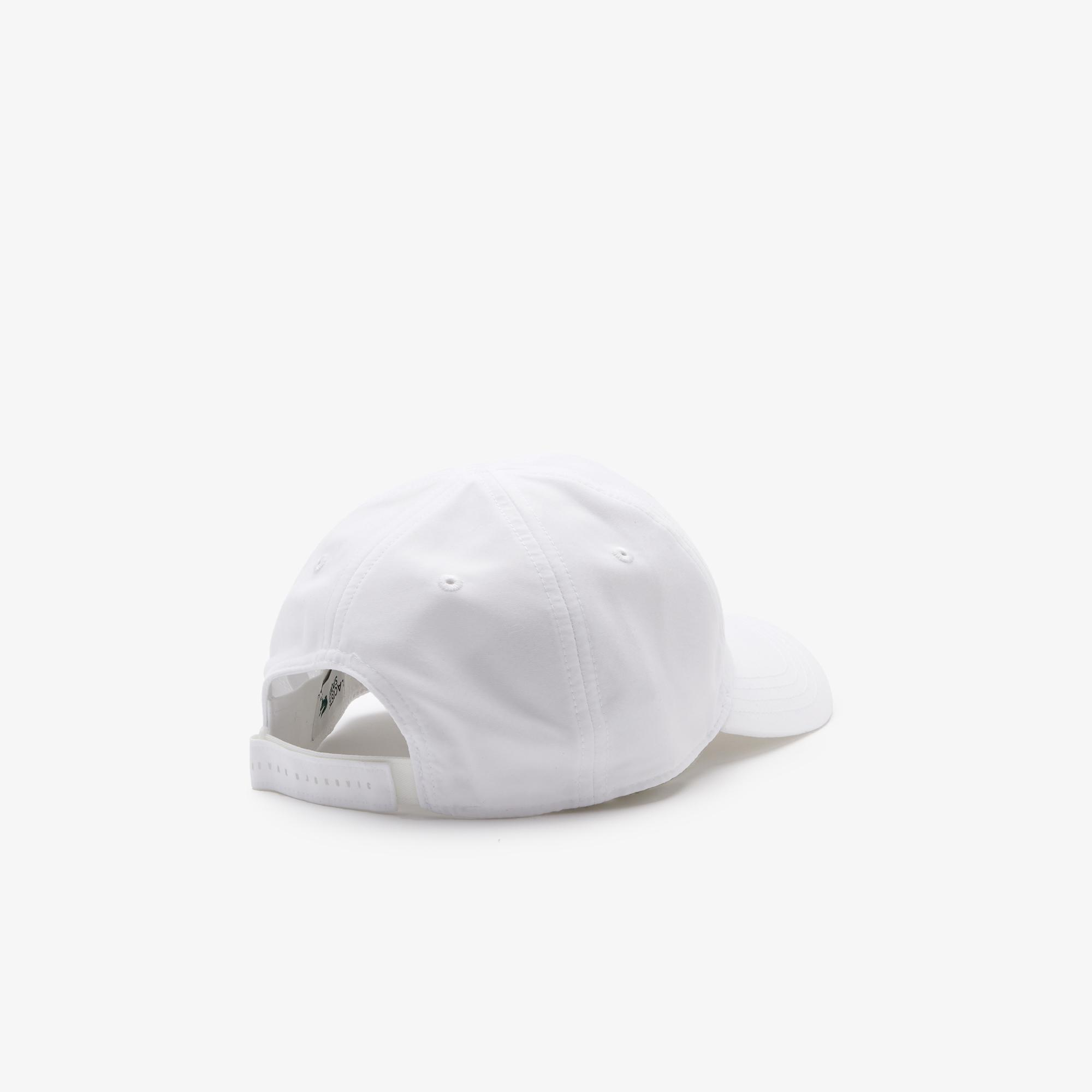 Lacoste Sport Novak Djokovic Erkek Beyaz Şapka