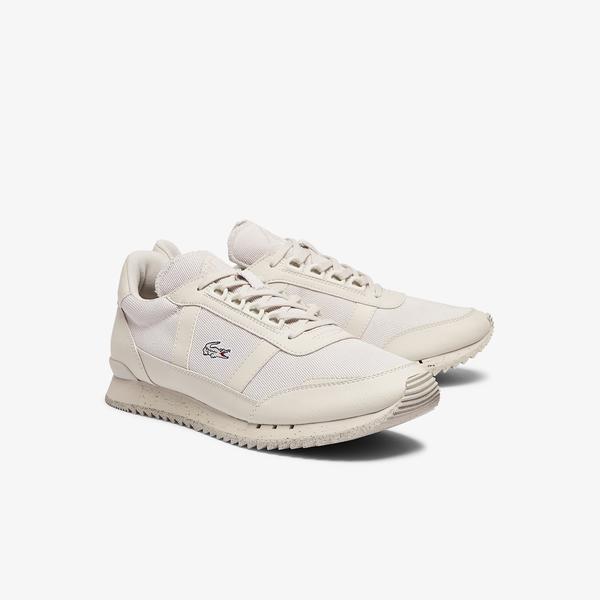 Lacoste Partner Retro 0921 1 Sma Erkek Açık Bej Sneaker
