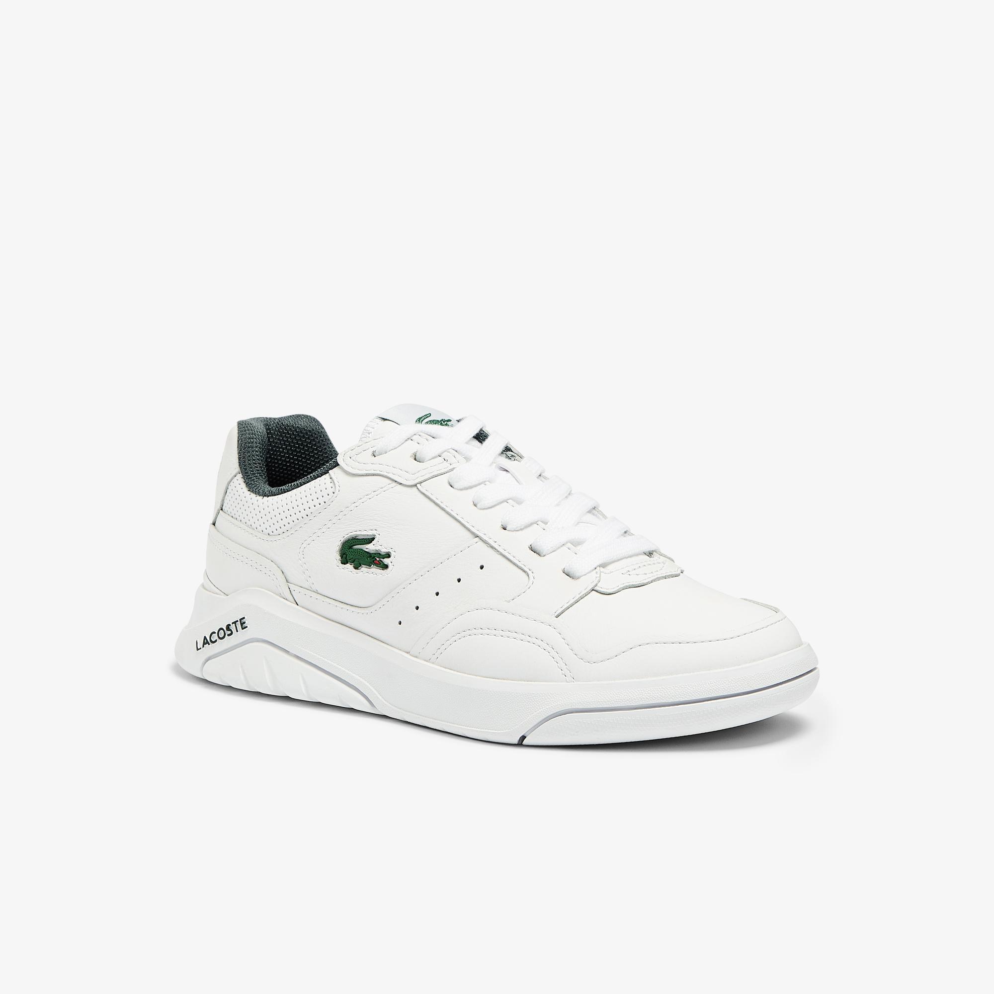 Lacoste Game Advance Luxe07213Sfa Kadın Beyaz - Koyu Yeşil Sneaker