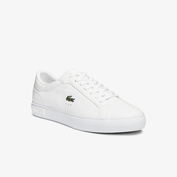 Lacoste Powercourt 0721 2 Sma Erkek Beyaz Sneaker