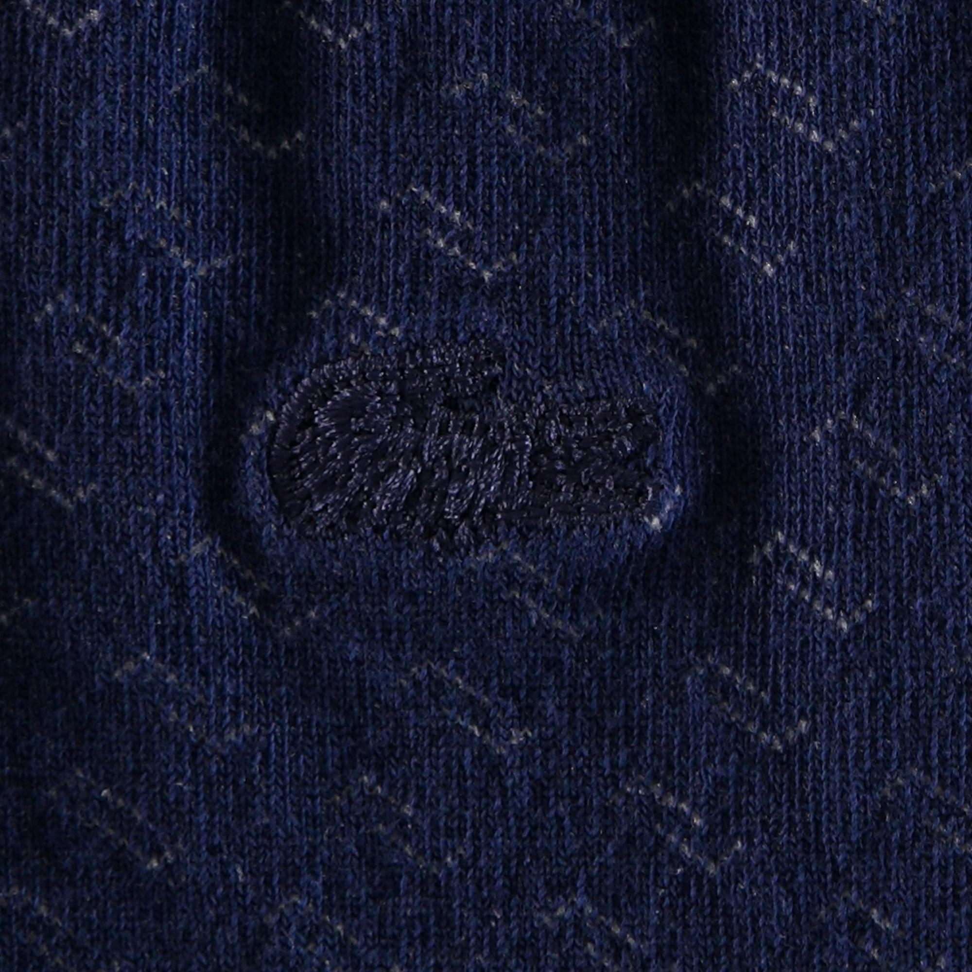 Lacoste Unisex Uzun Desenli Mavi - Lacivert Çorap