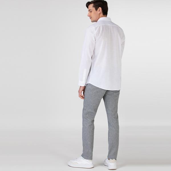 Lacoste Erkek Regular Fit Gri Pantolon