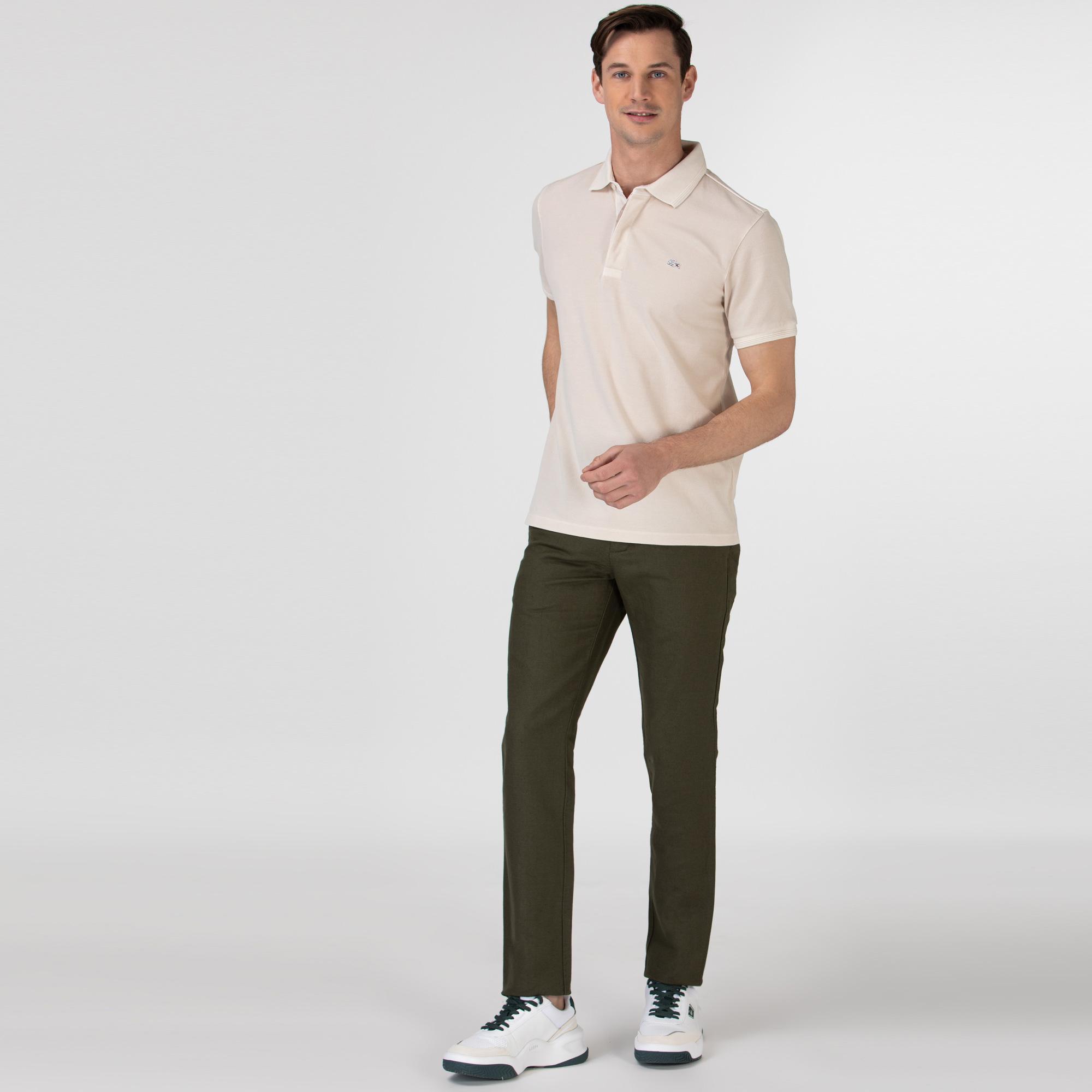 Lacoste Erkek Regular Fit Haki Pantolon