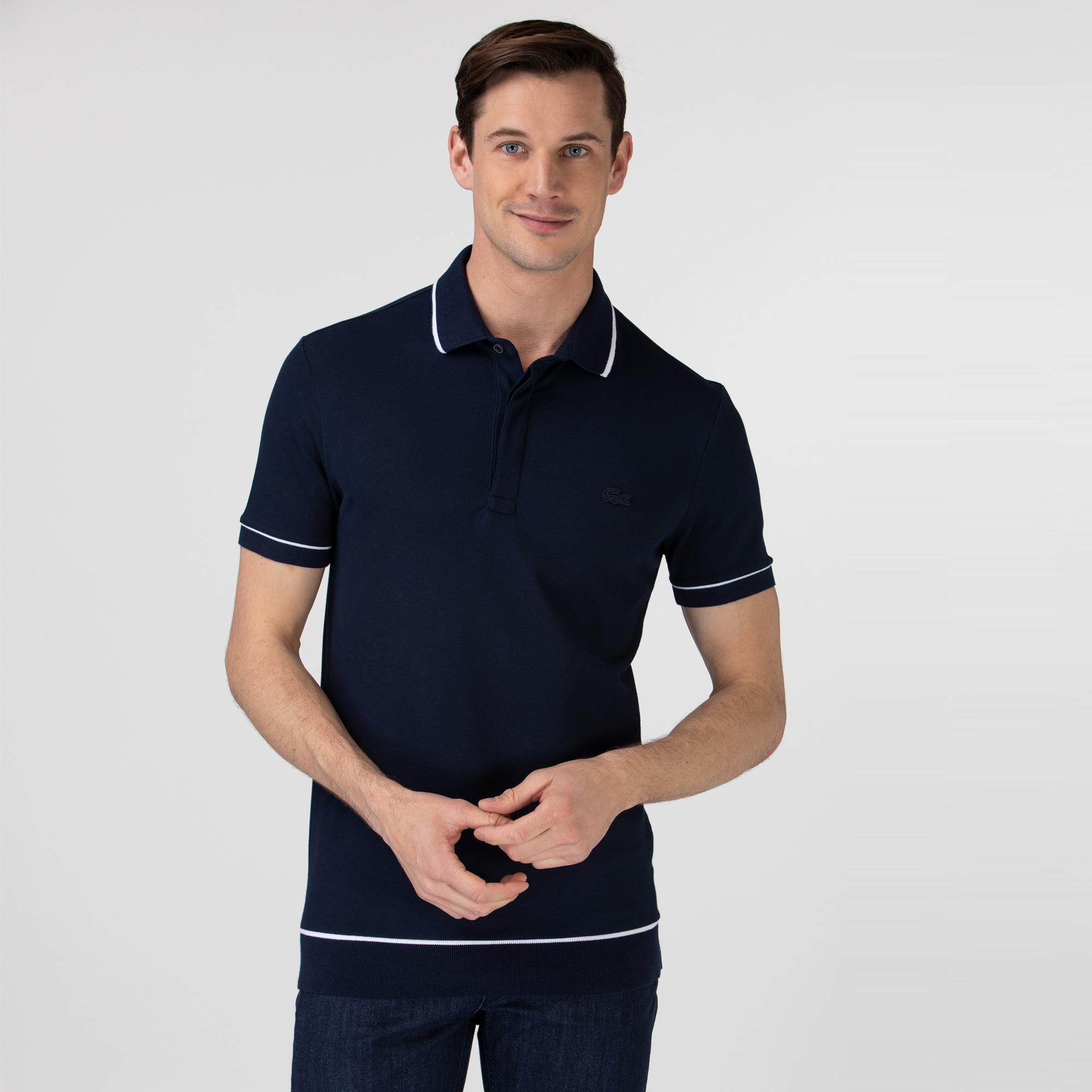 Lacoste Erkek Regular Fit Lacivert Polo