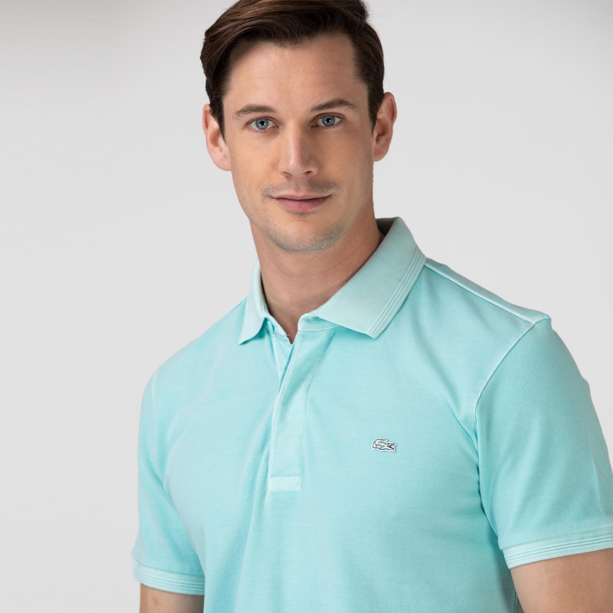 Lacoste Erkek Regular Fit Açık Yeşil Polo