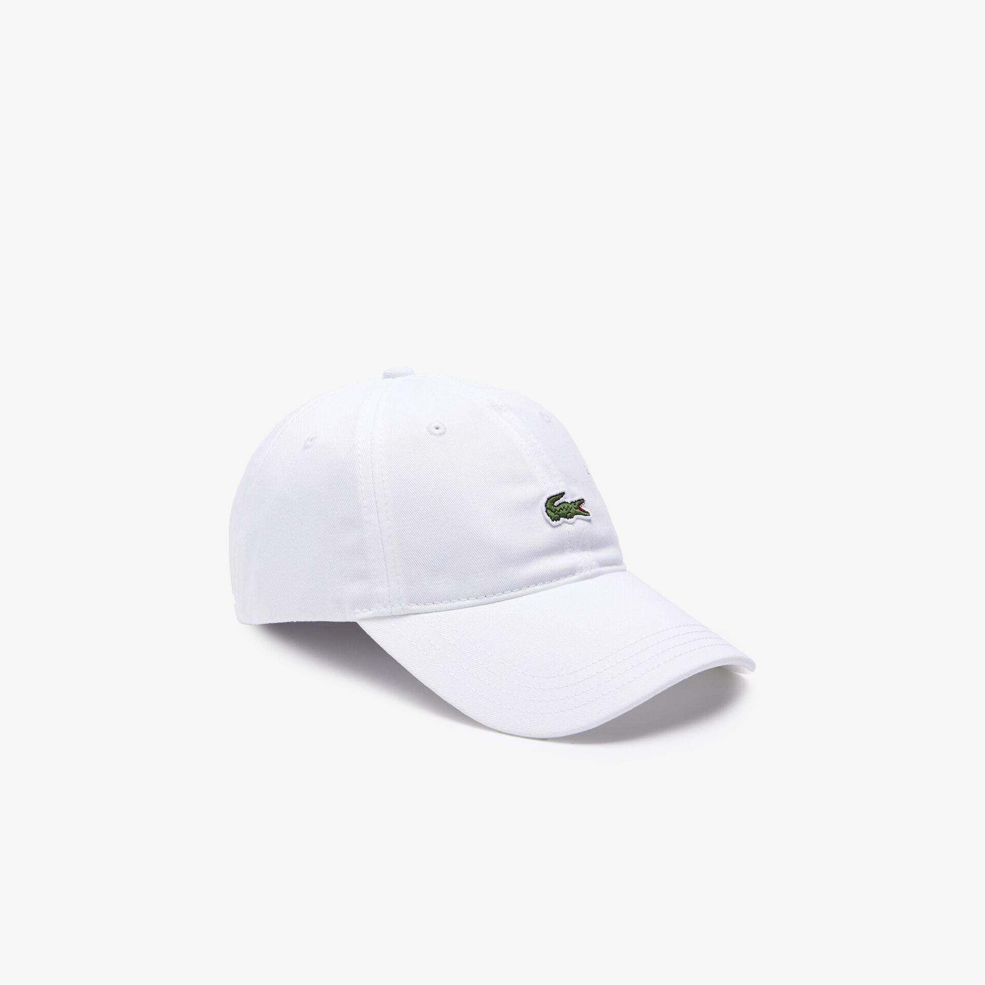 Lacoste X Polaroid Erkek Beyaz Şapka