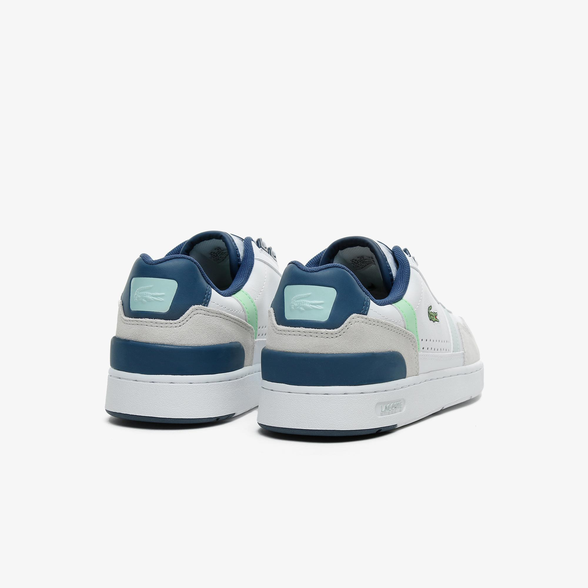 Lacoste T-Clip 0721 3 Sfa Kadın Beyaz - Lacivert Sneaker