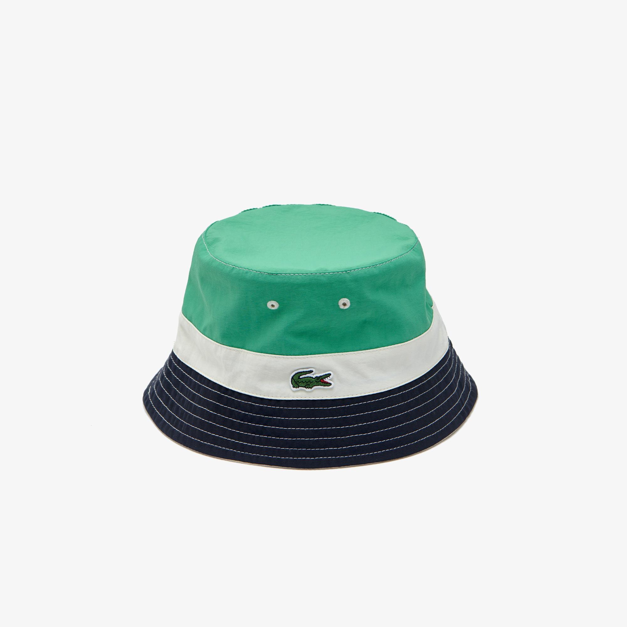 Lacoste Erkek Renk Bloklu Renkli Çift Taraflı Şapka