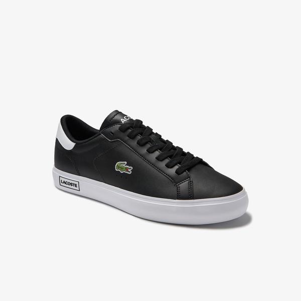 Lacoste Spowercourt 0520 1 Sma Erkek Siyah Sneaker