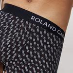 Lacoste Sport Roland Garros Erkek Baskılı Renkli Boxer