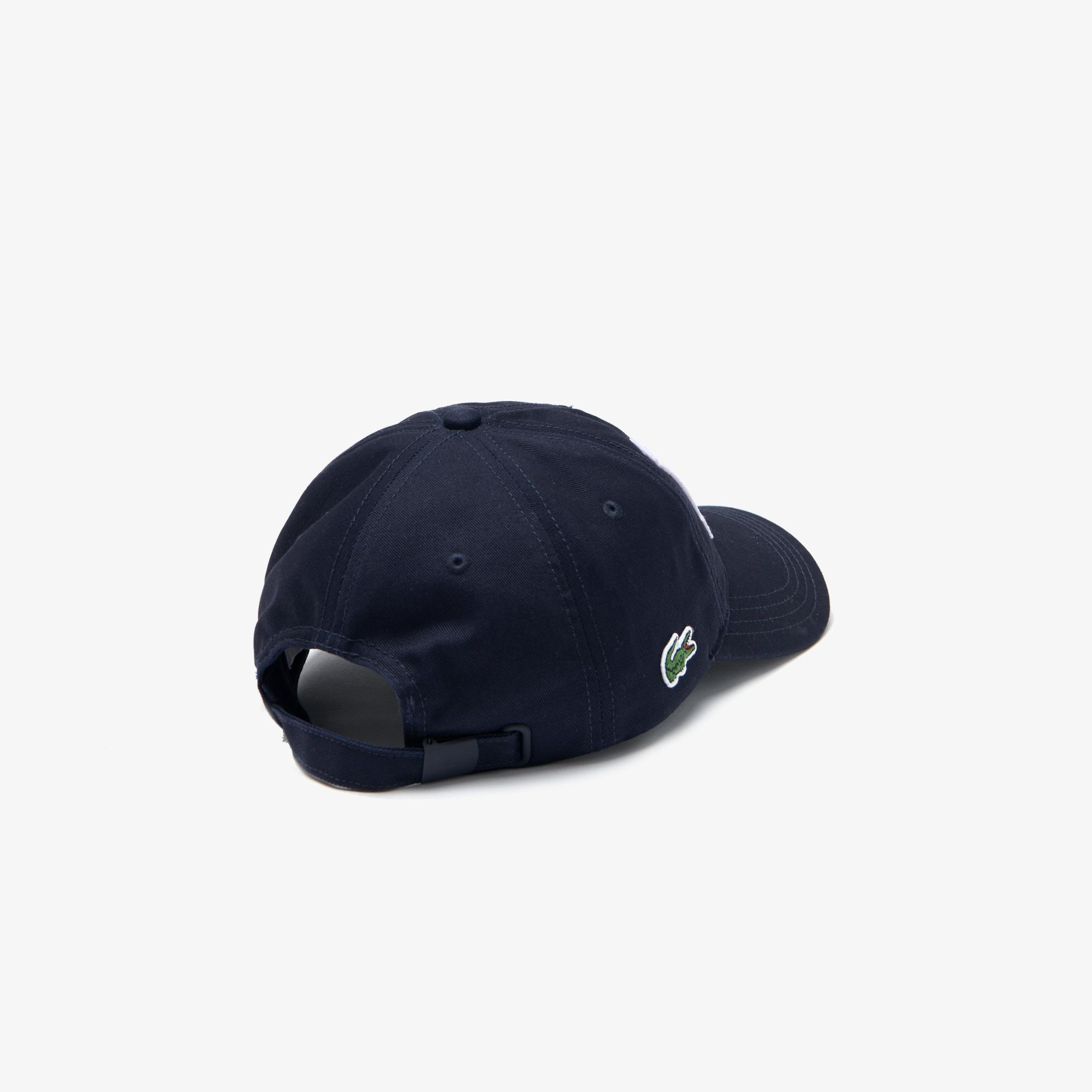 Lacoste Erkek Baskılı Lacivert Şapka
