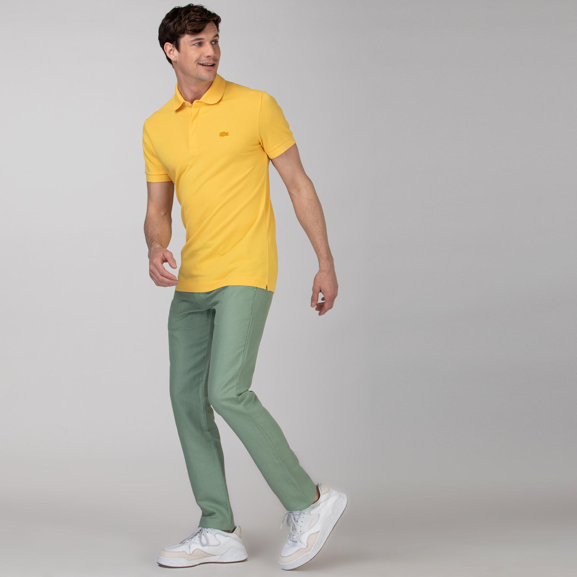 Lacoste Erkek Regular Fit Yeşil Pantolon
