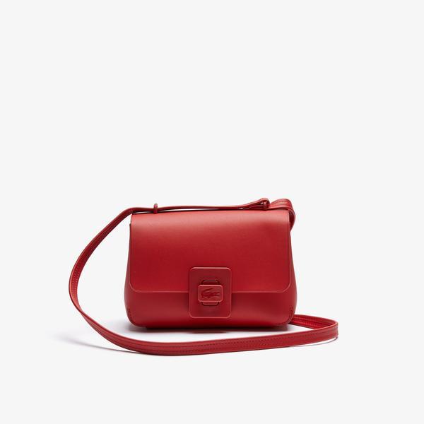 Lacoste Kadın Deri Kırmızı Çanta