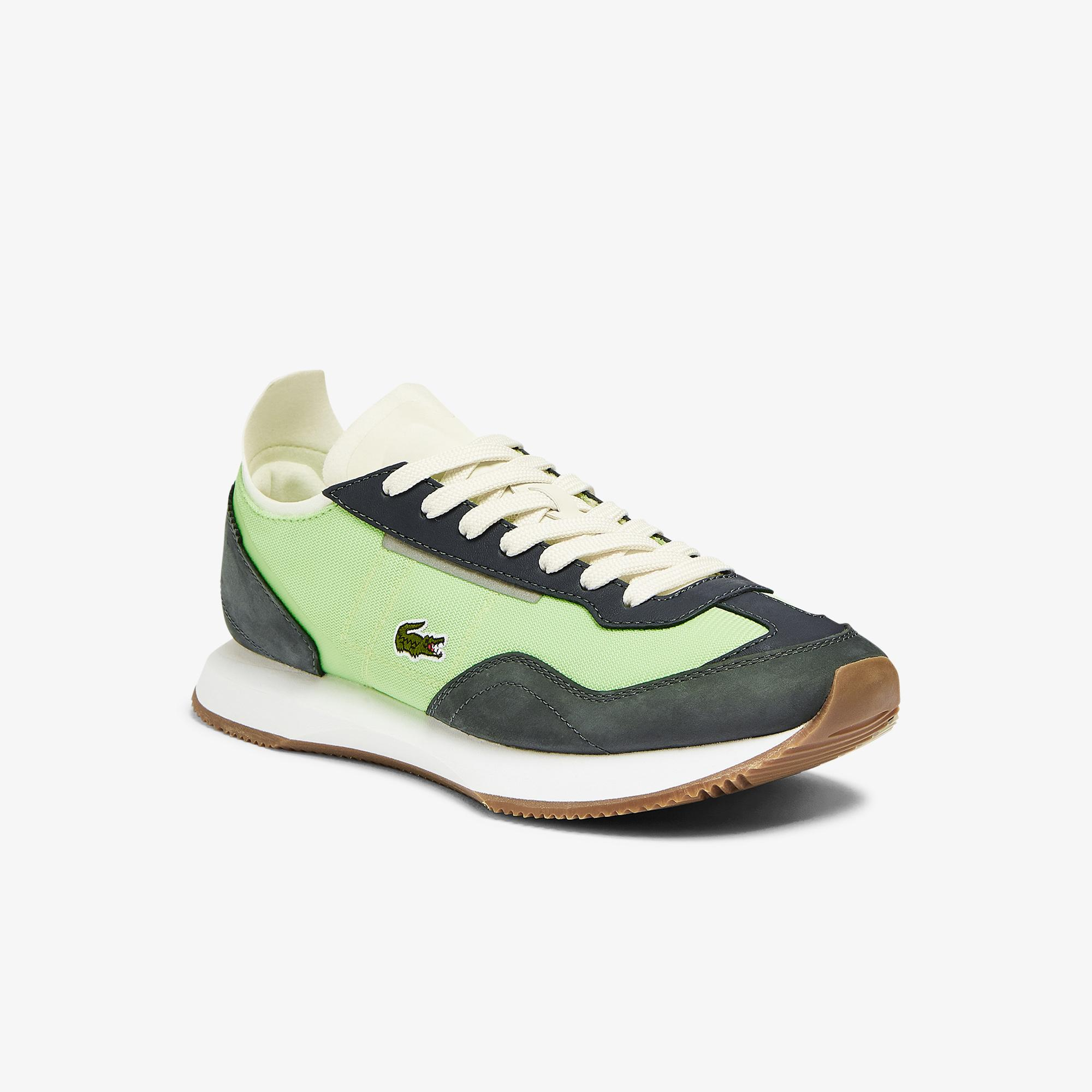 Lacoste Match Break 0721 1 G Sfa Kadın Açık Yeşil - Beyaz Sneaker