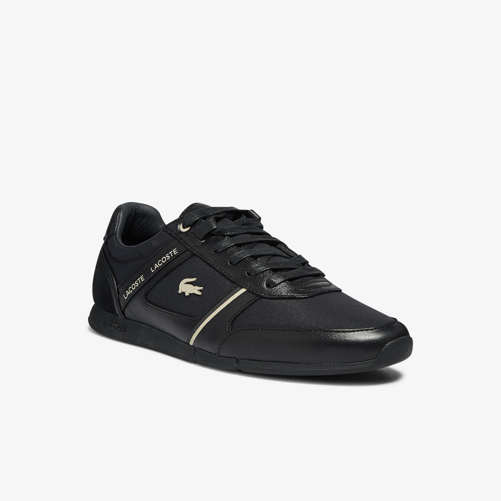 Lacoste Menerva 0921 1 Cma Erkek Siyah - Antrasit Sneaker