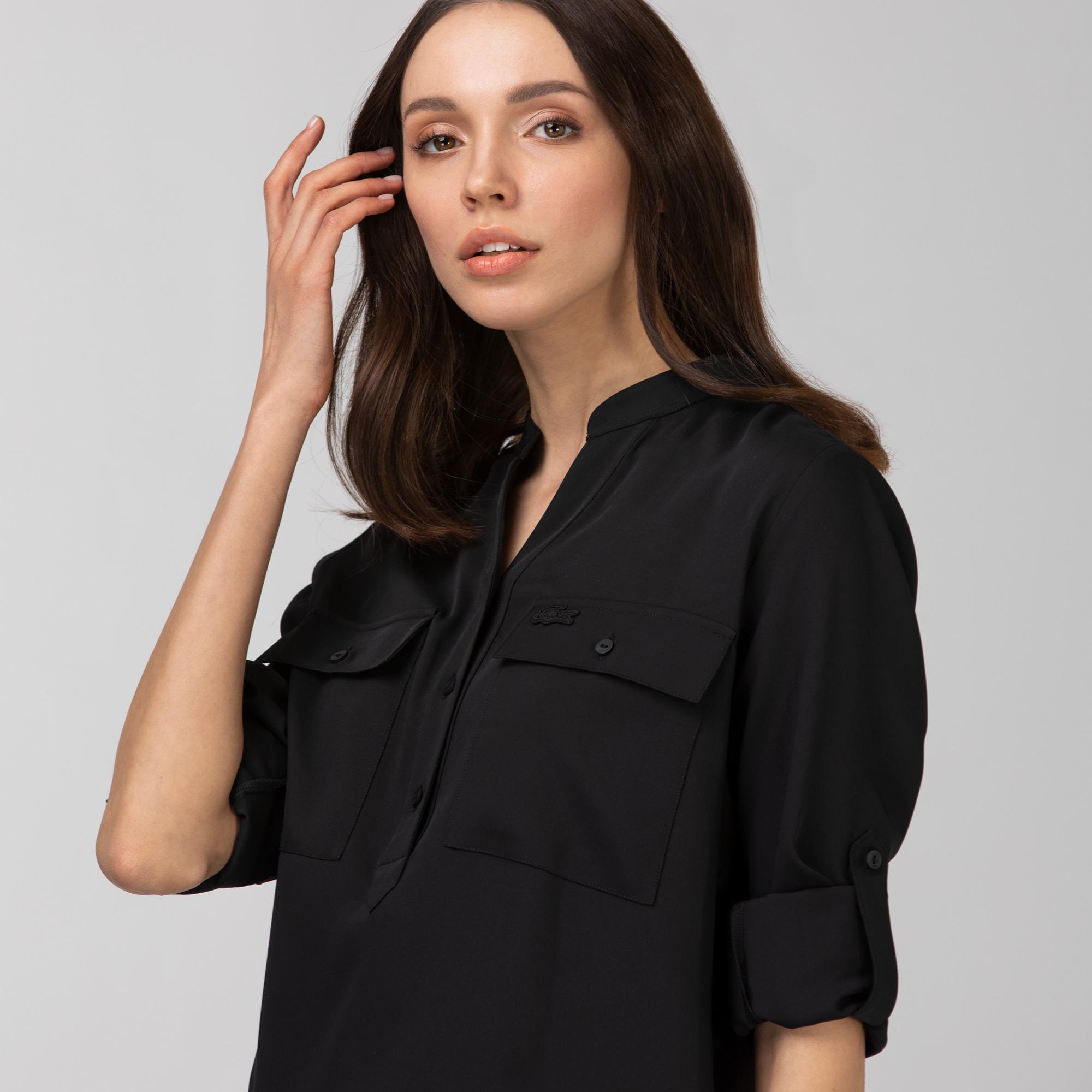 Lacoste Kadın Kahverengi Gömlek