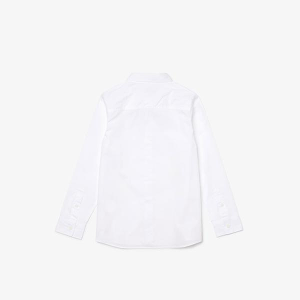 Lacoste Çocuk Beyaz Gömlek