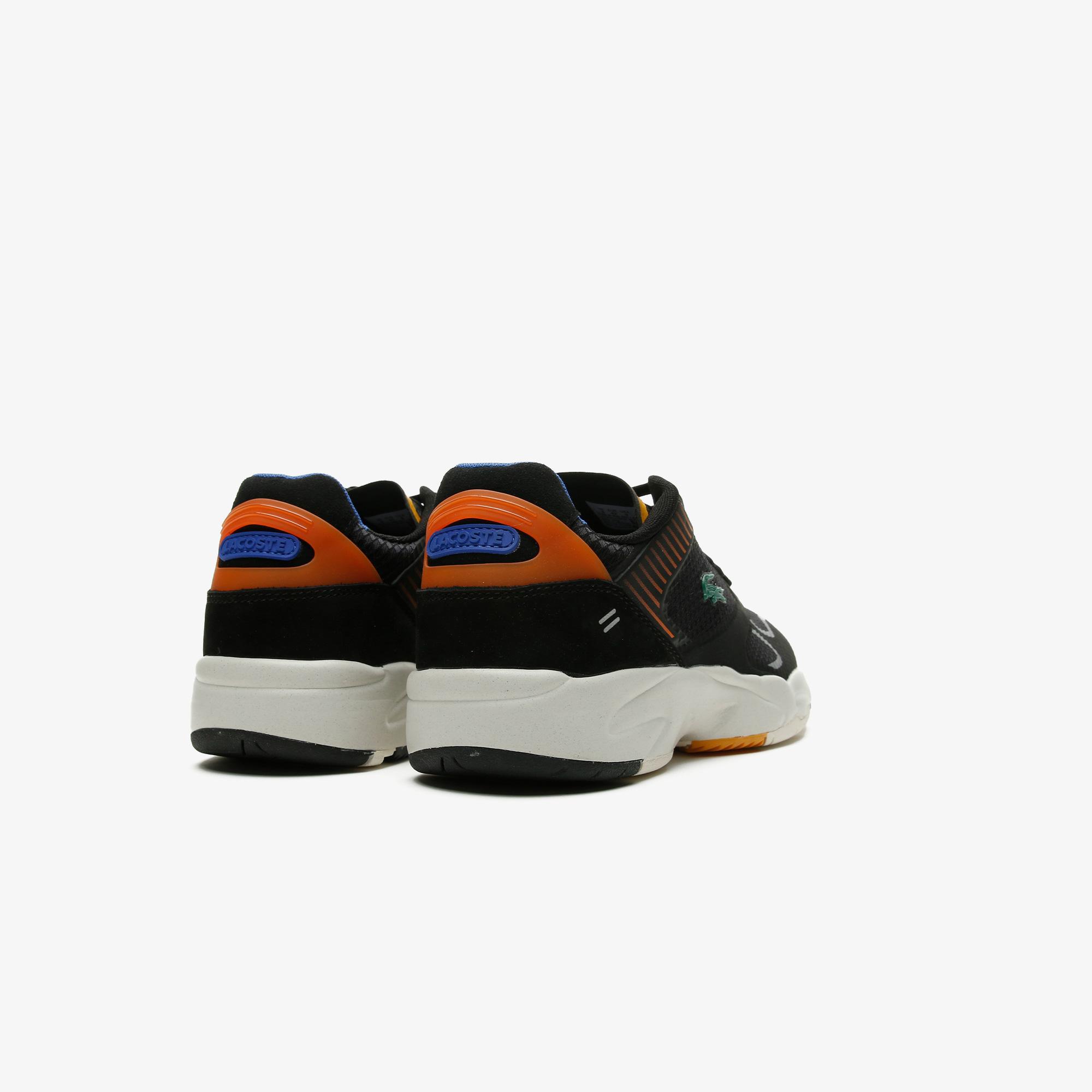 Lacoste Storm 96 Nano09211 Sma Erkek Siyah - Turuncu Sneaker