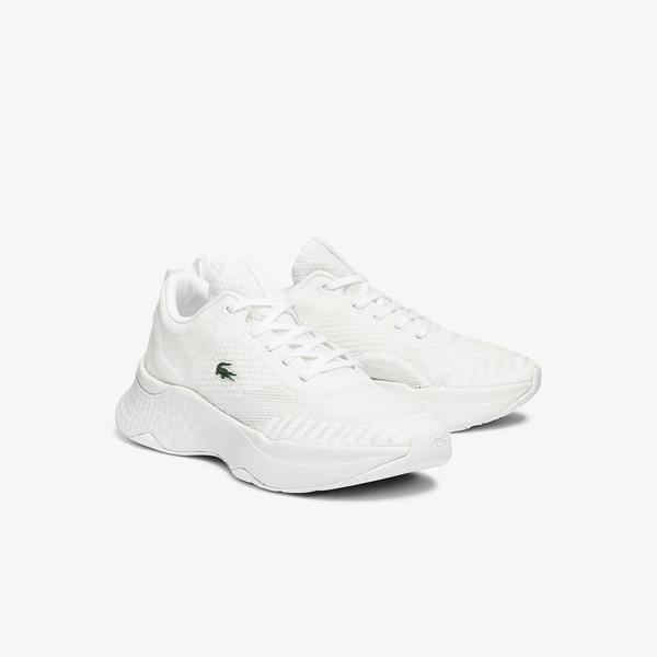 Lacoste Court-Drive Fly 07211 Sfa Kadın Beyaz Sneaker