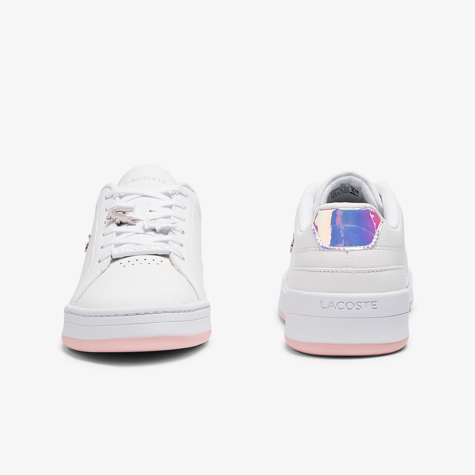 Lacoste Challenge 0921 1 Sfa Kadın Beyaz - Açık Pembe Sneaker