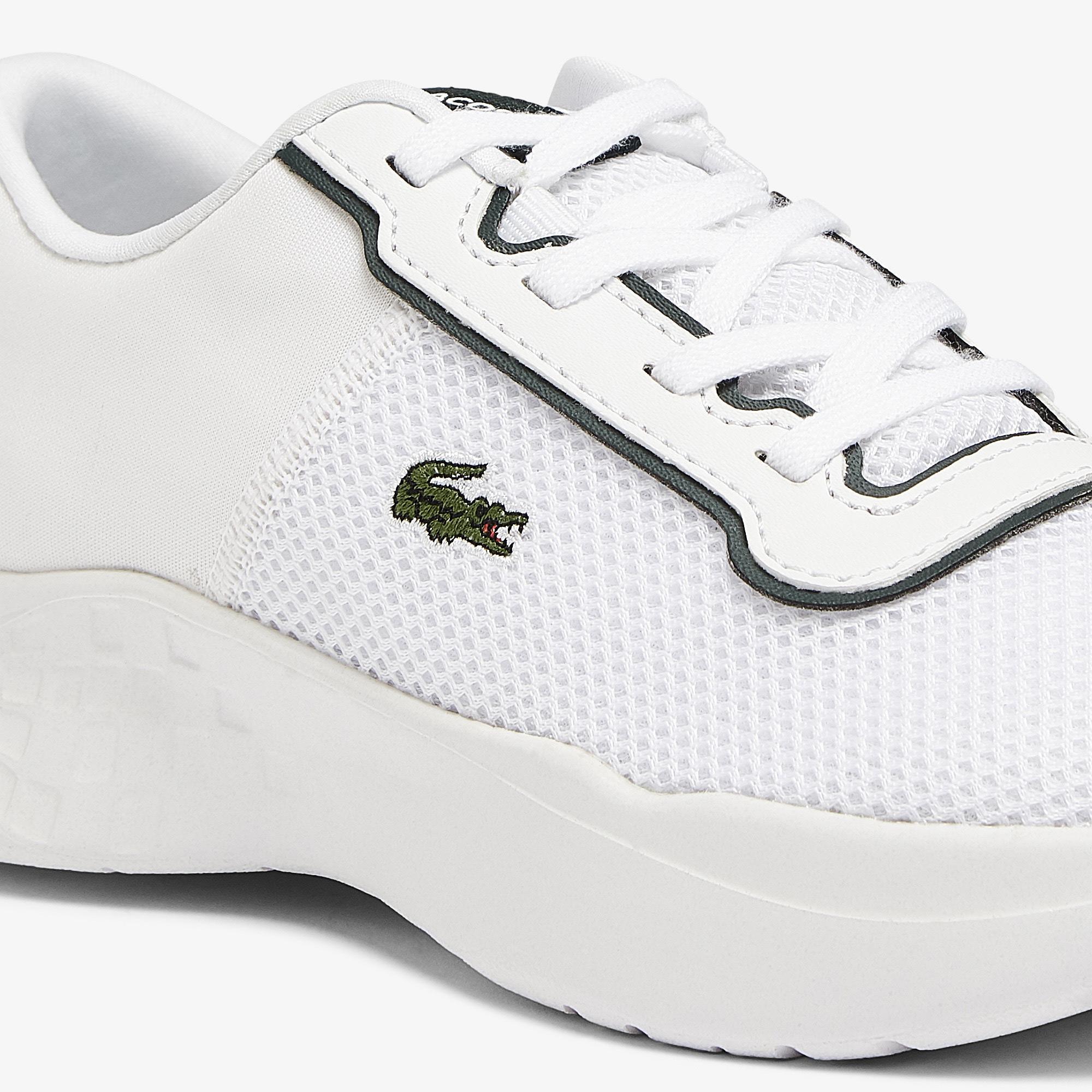 Lacoste Court-Drive 0721 1 Suc Çocuk Deri Beyaz - Koyu Yeşil Sneaker