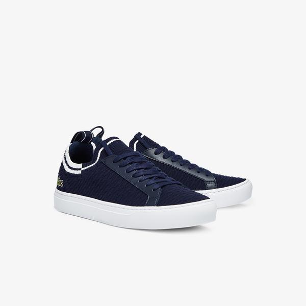Lacoste La Piquee 0721 1 Cma Erkek Lacivert - Beyaz Sneaker