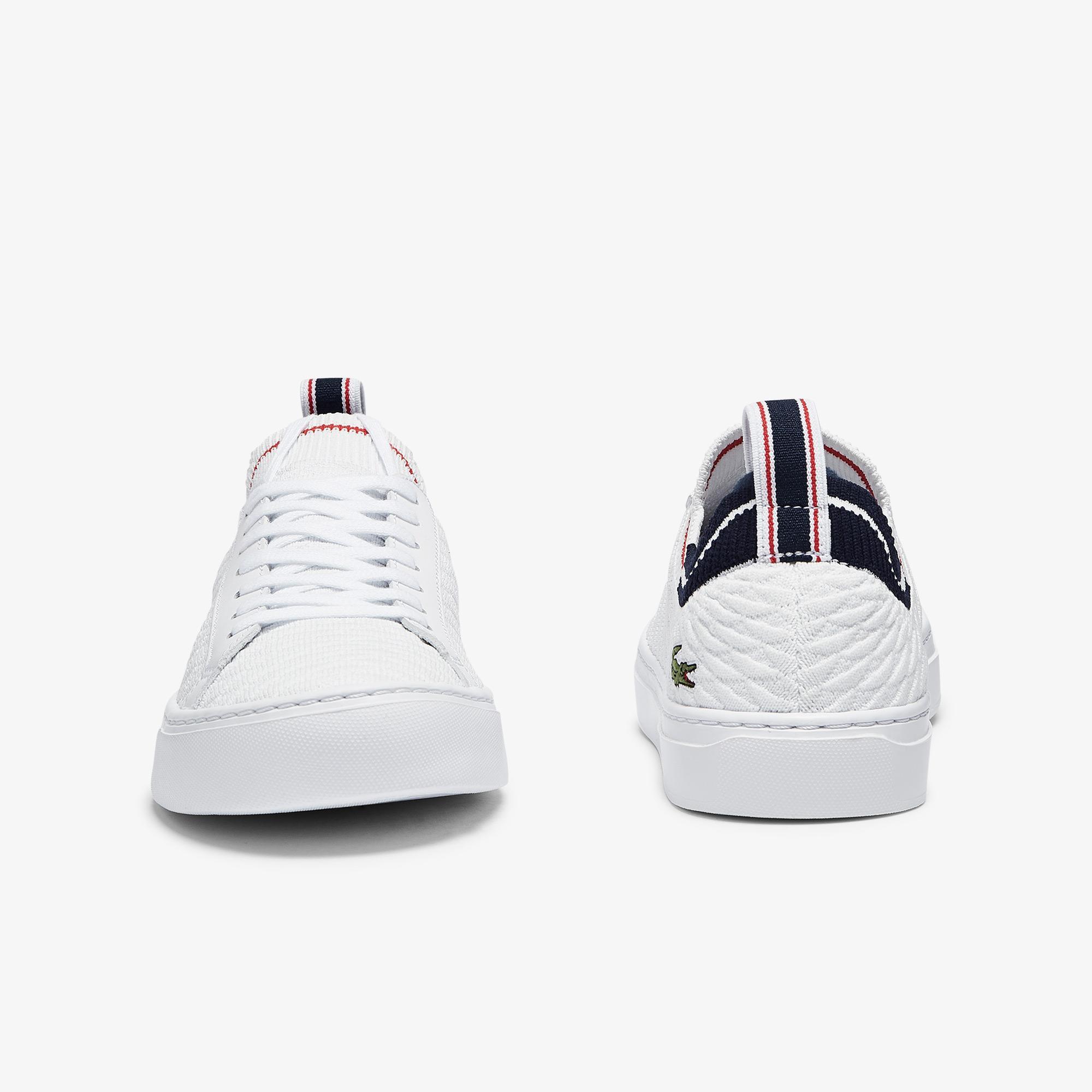 Lacoste La Piquee 0721 1 Cma Erkek Beyaz - Lacivert - Kırmızı Sneaker