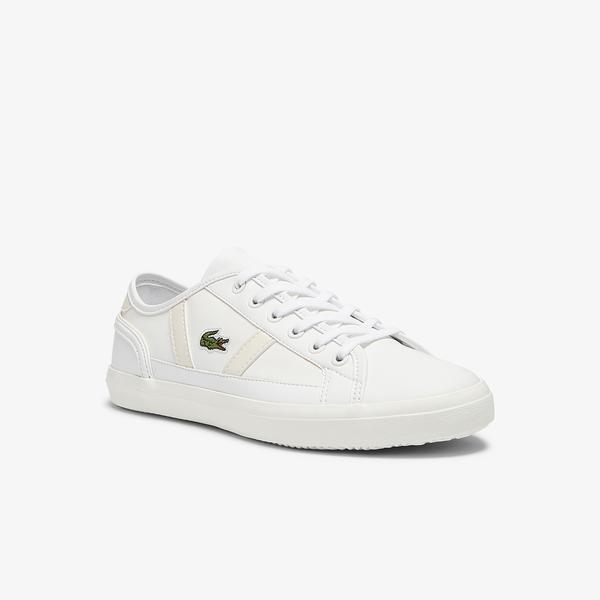 Lacoste Sideline 0721 1 Cfa Kadın Beyaz Sneaker