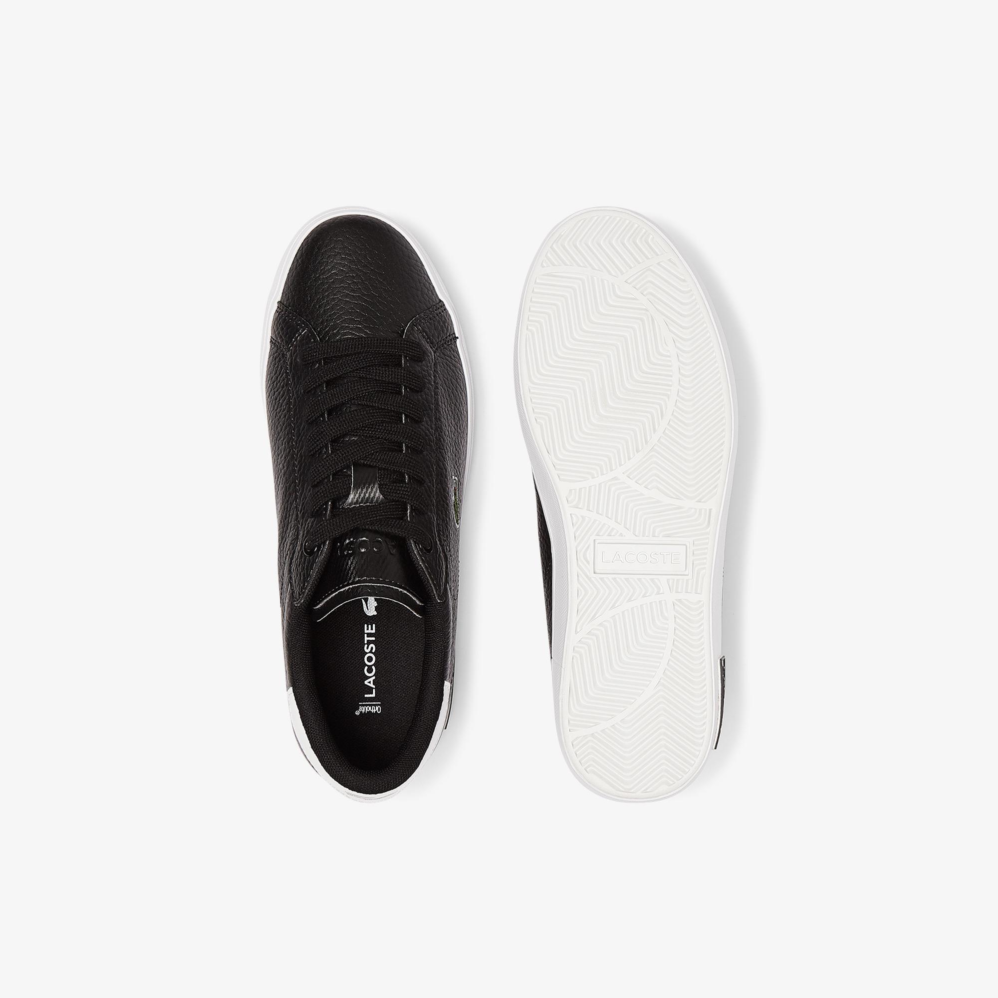 Lacoste Powercourt 0721 2 Sfa Kadın Siyah Sneaker