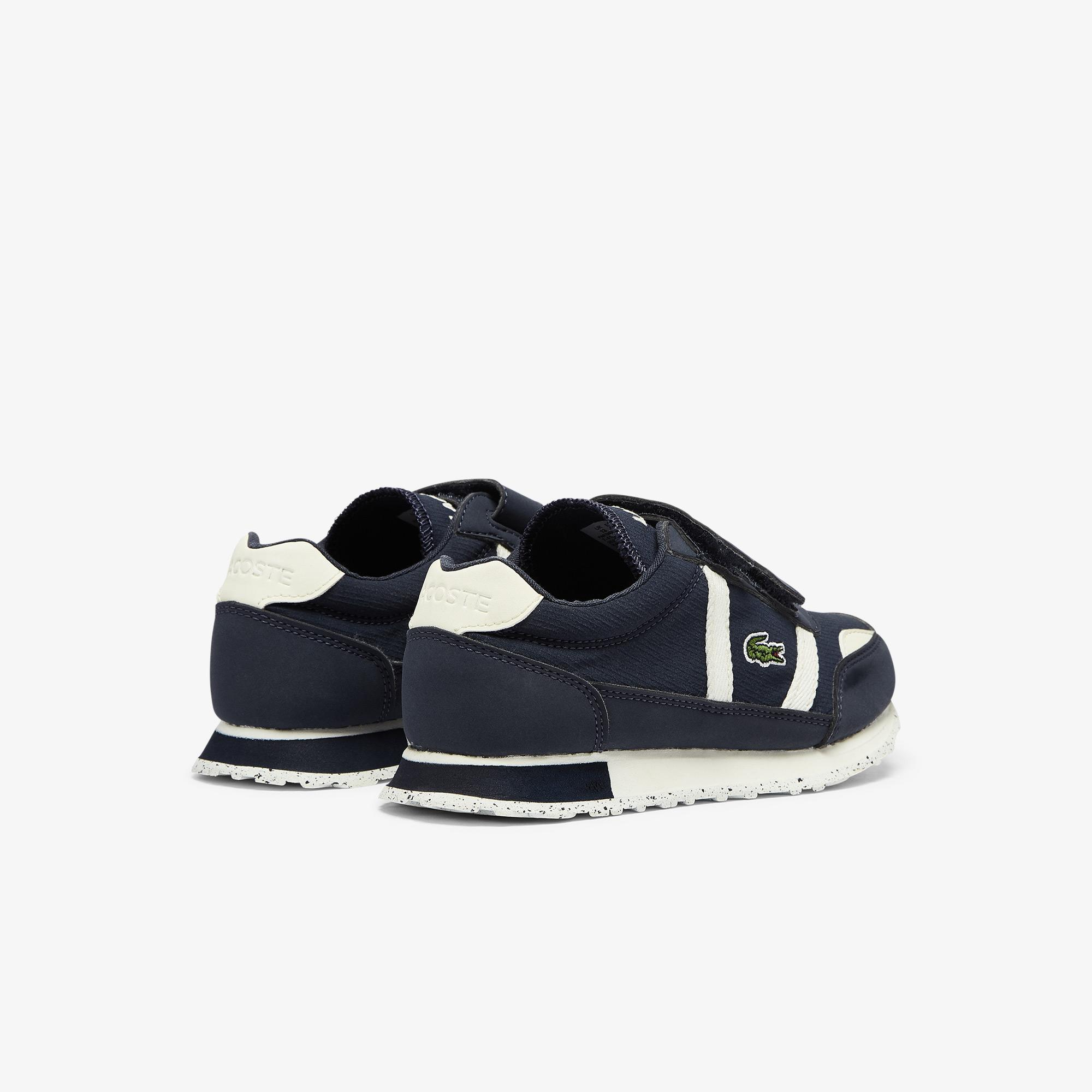 Lacoste Partner 0921 1 Suc Çocuk Lacivert - Beyaz Sneaker