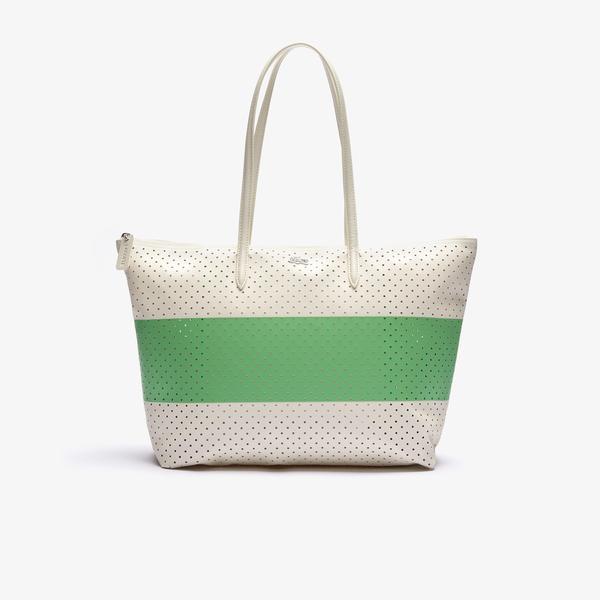 Lacoste Kadın Beyaz - Yeşil Çanta