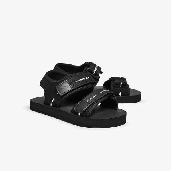Lacoste Sol 0921 1 Cuc Çocuk Siyah Sandalet
